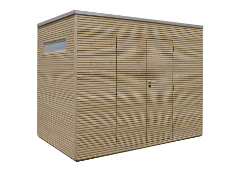Tack nieuw tuinhuis box welles hout - Modern tuinbekken ...