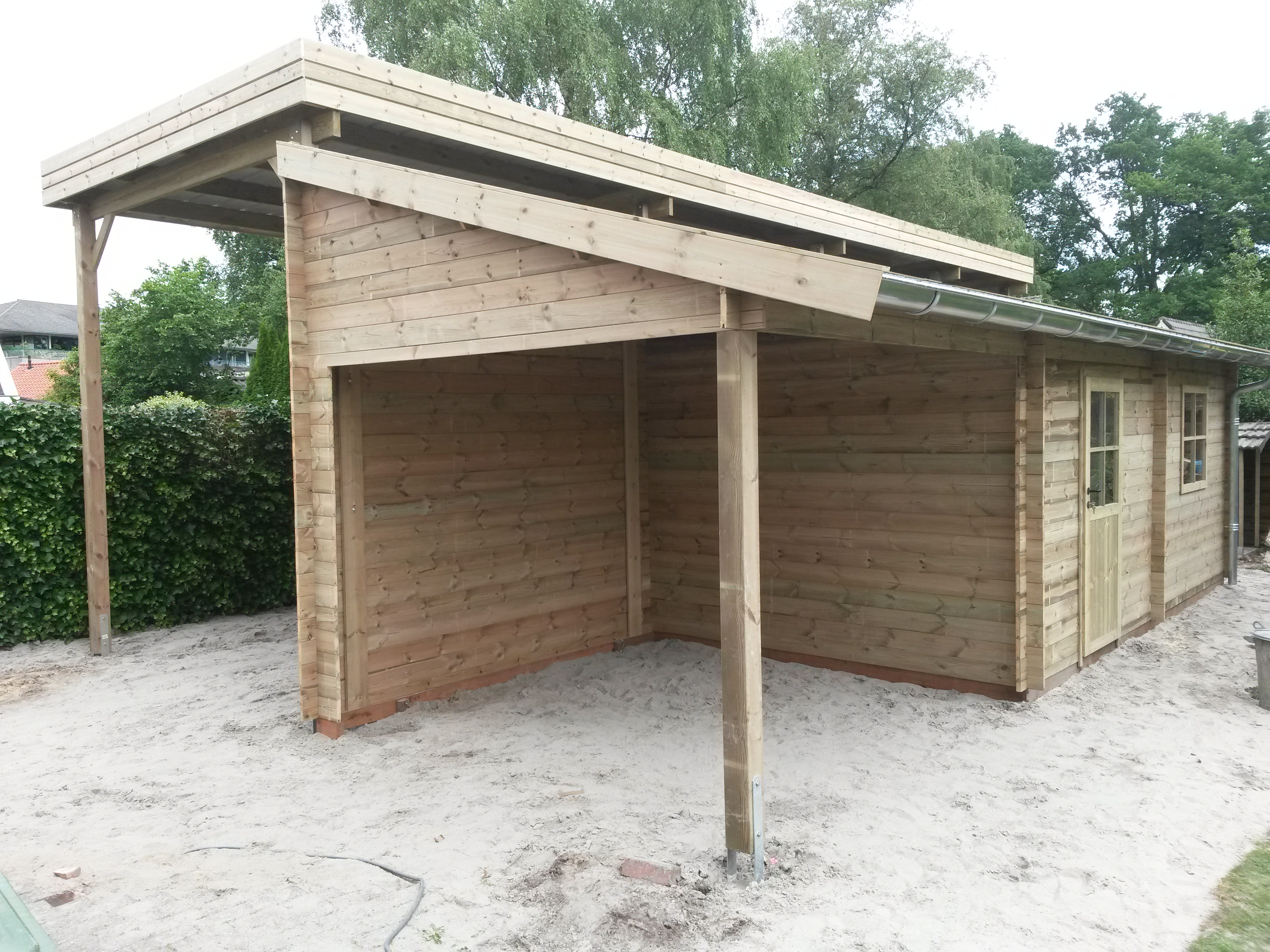 Gardival carport/berging/overkapping in Havelte - Welles hout